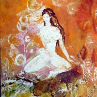 Mystic Girl<br/>40 x 50 cm<br/>295,- €title