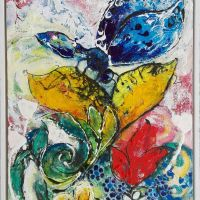 Butterfly Blue<br/>40 x 50 cm<br/>145,- €title